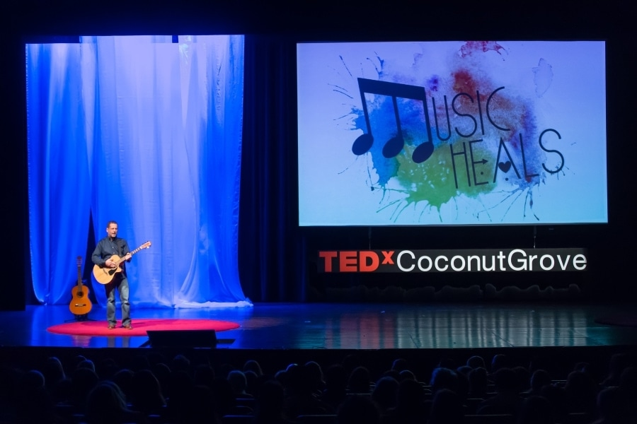 Corey Bergman at TEDx Coconut Grove 2016 Dreams
