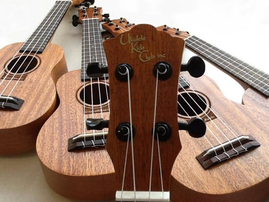 3 ukuleles