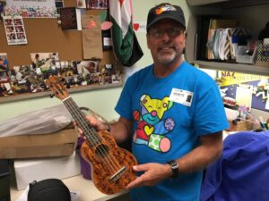 Corey Bergman wants to give sick children the gift of music.