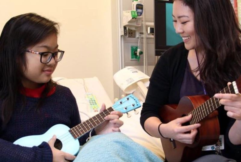 Ukulele Kids Club Hits High Note with Children's Healthcare of Atlanta