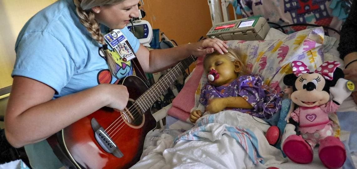Music Is Therapy For Kids at Miami Children's Hospital